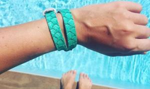 bracelet cuir original pour femme