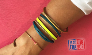 bracelet cuir français pour femme