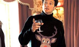 Marc Darcy dans Bridget Jones lors de la soirée de Noël.