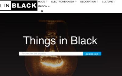 Trouver des produits noirs facilement